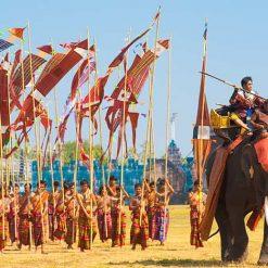 Surin et le festival des éléphants
